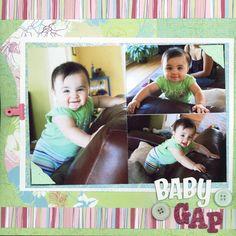 scrapbooking | Scrapbooking Page Ideas Baby Gap scrapbooking ideas, scrapbook ideas ...