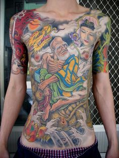 Don't Just Sit There! Start Getting More Japanese Tattoos Mens Body Tattoos, Life Tattoos, Body Art Tattoos, Tattoos For Guys, Sleeve Tattoos, Tattoos For Women, Japanese Tatoo, Yogi Tattoo, Tatoo Styles