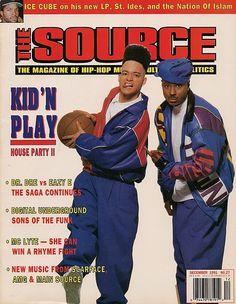 The Source Magazine, Kid n Play Source Magazine, Black Magazine, Vibe Magazine, Hip Hop And R&b, Hip Hop Rap, History Of Hip Hop, Black History, Mc Lyte, Kid N Play