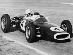 Sam Tingle in 1963 in his first LDS (Alfa powered) during the Rand GP