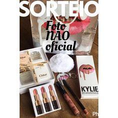 @modaparameninas Meninas esta rolando um SUPER SORTEIO de um Kit de cosméticos da Kylie Jenner e