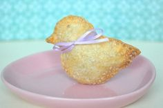 Baby Duck Shaped Hand Pies - 12 Pieces, One Dozen - Baby Shower Favor, Edible Favor, Easter, Edible Gift by Crumbtastic on Gourmly