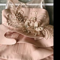 Exquisite Pearl Beaded Lace Applique Set in Dust Pink,Metalic Silver Thread Bridal Wedding Gown Applique, Bridal Dress Decor, Bodice Embroidered Lace Fabric, Bridal Lace Fabric, Wedding Fabric, Floral Embroidery, Flower Fabric, Gold Lace, Pink Lace, Lilac, Gold Tulle