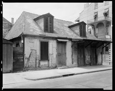 Jean Lafitte's Blacksmith shop still looks the same