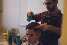UC Santa Barber: First-Year Student Runs Authentic Salon Out of Anacapa Political Science Major, First Year Student, Barber Shop, Salons, Mens Sunglasses, Santa, Politics, Running, Living Rooms
