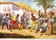 Centro Cultural Canavial Capoeira: A CAPOEIRA