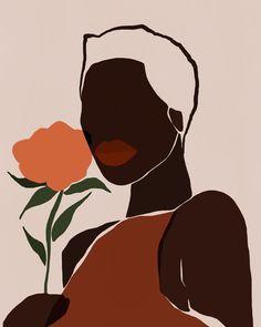African American Artwork, African Art, Kunst Inspo, Art Inspo, Art And Illustration, Dope Kunst, Minimal Art, Black Girl Art, Black Art