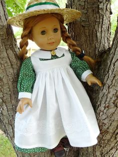 "18"" Doll Clothes Historical ""Anne of Green Gables"" Style Dress Fits American Girl Samantha, Kirsten"