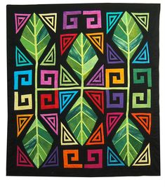 Priscilla Kibbee: The Mola Quilt Challenge - Holy Mola