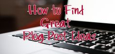 Pat Flynn shares an awesome way to find ideas for your blog posts.