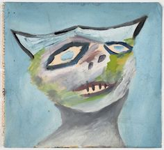 An image of Nostalgia for the sky by Sidney Nolan