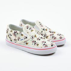 "Vans ""Classic Slip-on"" bunte Disney Minnie Maus Sneakers"