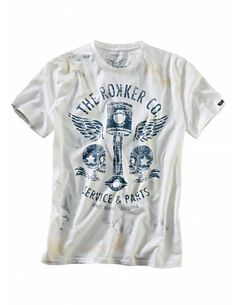 "Rokker T-Shirt ""Flying Pistons-men"""