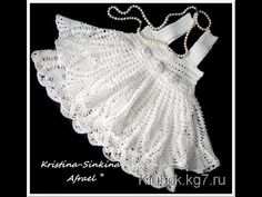 Crochet dress| How to crochet an easy shell stitch baby / girl's dress for beginners 49 - YouTube