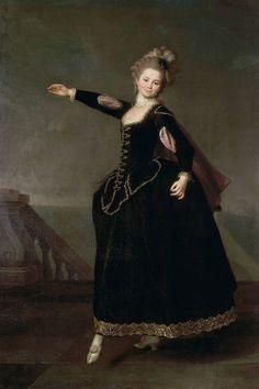 Natalia Borshchova (1776) by Ukrainian artist Dmitry Levitzky.