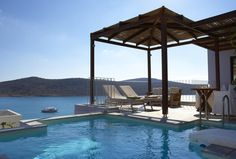 Domes of Elounda, Autograph Collection || The 5-star Domes of Elounda, Autograph Collection offers luxurious accommodation with spa bath overlooking the Unesco-protected island of Spinalonga and its Venetian castle.