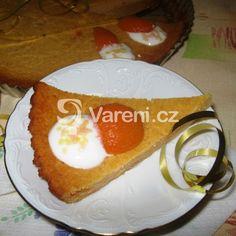 Výborný meruňkový koláč s tvarohem recept - Vareni.cz Cake, Desserts, Food, Tailgate Desserts, Deserts, Kuchen, Essen, Postres, Meals