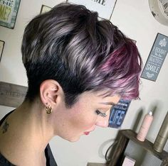 50 Hottest Pixie and Bob Hairstyles for 2019 - - Short Hairstyles - Hairstyles 2019 Pixie Haircut For Thick Hair, Bobs For Thin Hair, Short Pixie Haircuts, Short Bob Hairstyles, Diy Hairstyles, Short Hair Cuts, Simple Hairstyles, Hairstyles Pictures, Wedding Hairstyles
