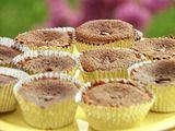 """""""Molten"""" Flourless Chocolate Cupcakes Recipe"""
