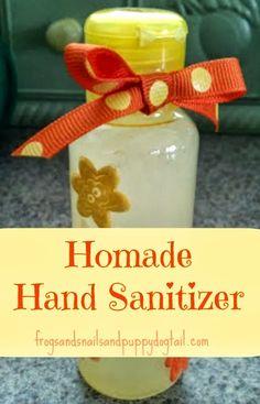 Homade Hand Sanitizer