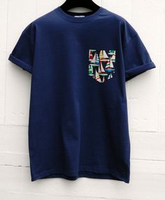 Men's Multi Colour Sailing Boats Design Navy by HeartLabelTees Boat Design, Tee Design, Boys T Shirts, Cool Shirts, Crew Clothing, Quality T Shirts, Unisex, Shirt Style, Colorful Shirts