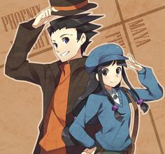 Professor Layton & Ace Attorney crossover