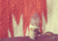 owl decor indie baby art woodland nursery decor by TheGinghamOwl, $14.00