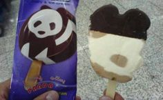 Yummy panda icecream :D