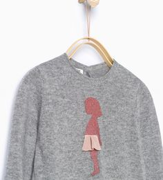 Shimmer knit sweater-Cardigans and Sweaters-Baby girl-Baby   3 months - 3 years-KIDS   ZARA United States