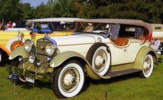 1929 Stutz DV16 LeBaron Dual Cowl Phaeton