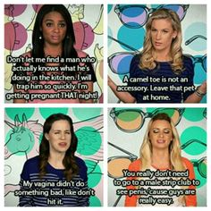 Girl Code... seriously this show is perfect