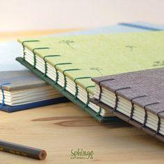 Coptic stitch on sketchbook. Watercolor paper 300gr / Costura copta para cuaderno de acuarelas. Papel especial 300gr