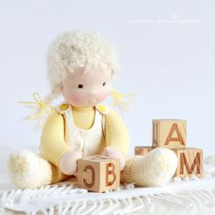 """Ivanova"" Waldorf Handmade Doll | Fair Masters"