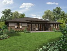 """10 Ranch House Plans with a Modern Feel Ranch Home Plans 1247 The Dallas    <a href=""""http://houseplans.co/house-plans/1247/"""" title=""""The Dallas House Plan 1247"""">The Dallas House Plan 1247</a>was designed to be easily modified to fit any homeowner's needs. The Dallas offers a single-level layout, attached garage and ample interior space."""