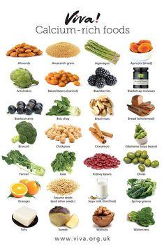 Great vegan calcium sources