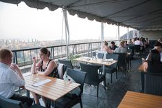 The highest patios in Toronto offer drinks and dining offset with a swift breeze and a bird's eye view of the city's skyline. This city has no shortage of high places - unsurprising, since we're a city of serious skyscrapers. Heck, the CN Tower even nabbed us a world record...
