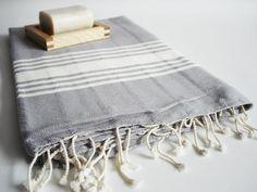 Bathstyle Turkish BATH Towel Handwoven Peshtemal by bathstyle