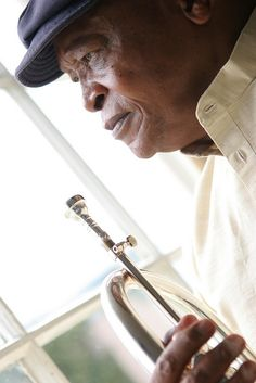 Grazin' in the Grass!!!!!                Hugh Masekela by dromosfestival, via Flickr...saw him at Music Hall in Detroit on 4/4/13