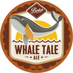 Whale Tale Ale - There's a hint of caramel when you inhale this approachable Ale. Boston Brewery, Craft Beer Brands, Burger King Logo, Ipa, Best Brand, Brewing, Caramel, Candy, Brow Bar