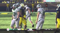 The North Texas Mean Green VS The Michigan Wolverines In A NCAA Football 10 Football Match This video showcases Gameplay of The North Texas Mean Green VS The Michigan Wolverines In A NCAA Football 10 Football Match