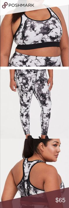 7257bbd28c4 NWT Torrid size 5 active wear sports bra leggings New size 5x Tie dye  design Sports