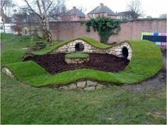 Backyards: Ergonomic Backyard Landscaping For Dogs ...