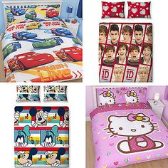 Disney character girls boys kids #childrens #double duvet quilt cover #bedding se,  View more on the LINK: 	http://www.zeppy.io/product/gb/2/400649682044/