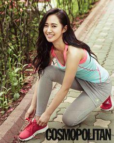 Girls Generations Yuri is a sexy sportswoman for Cosmopolitan ~ Latest K-pop News - K-pop News | Daily K Pop News