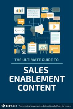 The ultimate guide to the types of sales enablement content to create