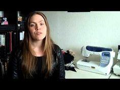 Lær at sy med professionelle syteknikker - YouTube