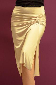conDiva Skirts | Draped Jersey Skirt (In Many Colours) | conDiva.com