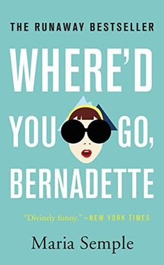 "Where'd You Go, Bernadette by Maria Semple. -Soon to be a major motion picture starring Cate Blanchett- ""A whip-smart, hysterical dramedy about a family in crisis after the disappearance of its brilliant, misanthropic matriarch. Feel Good Books, Great Books, Books To Read, My Books, Music Books, Whered You Go Bernadette, Best Book Club Books, Funny New, Cate Blanchett"