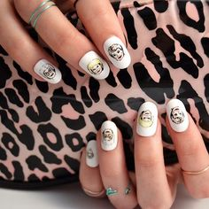 Golden Girls nail decals! We need these!