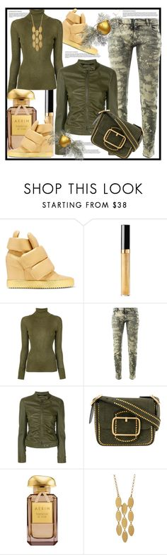 """Tory Burch Studded Bag and Tom Ford Zipped Jacket"" by helenaymangual ❤ liked on Polyvore featuring Giuseppe Zanotti, Chanel, Tory Burch, Faith Connexion, Tom Ford and Argento Vivo"